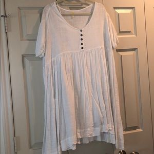 Off white swing dress